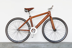 woodencycle, bici in legno riciclato, gogobags,