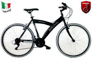 """La bicicletta mountain bike Girardengo premio per il concorso """"Noleggia & Vinci"""""""