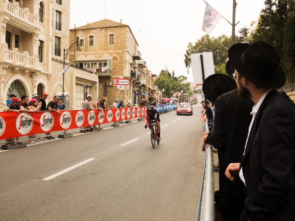 Giro d'Italia 2018 Gerusalemme prima tappa a cronometro