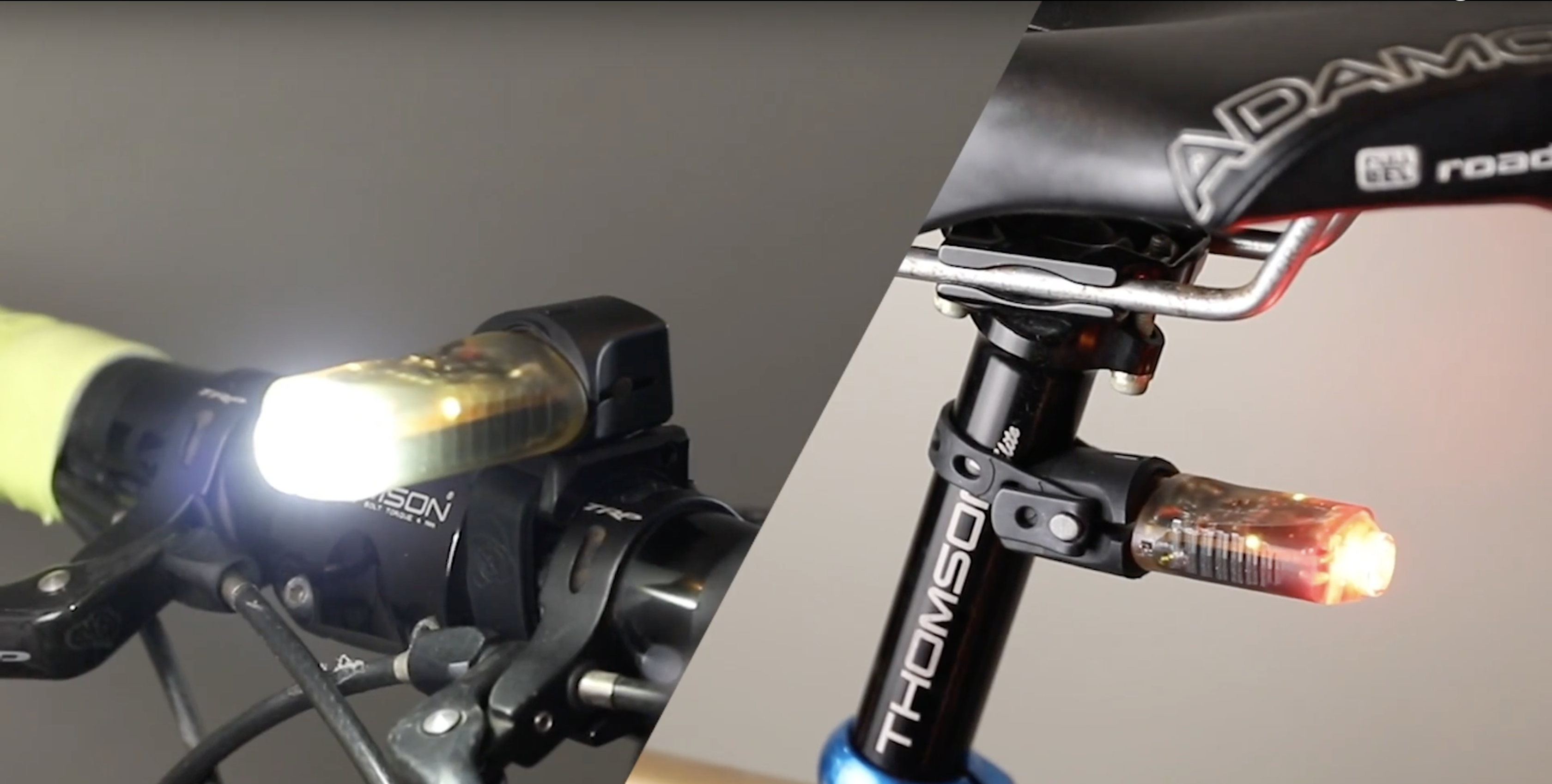Illuminazione led per mtb luci led per mountain bike test led