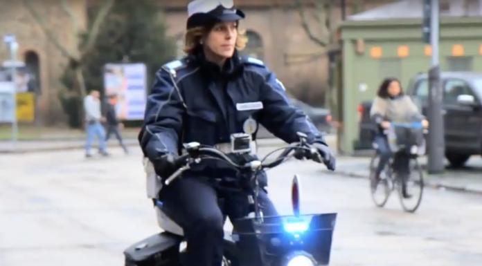 Concilia Mobike, bici elettrica per i corpi di Polizia Municipale del Gruppo Maggioli - screenshot from YouTube