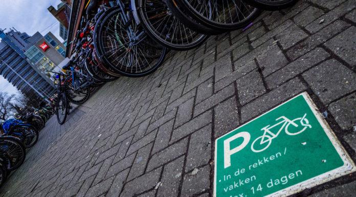 andare al lavoro in bici olanda parcheggi