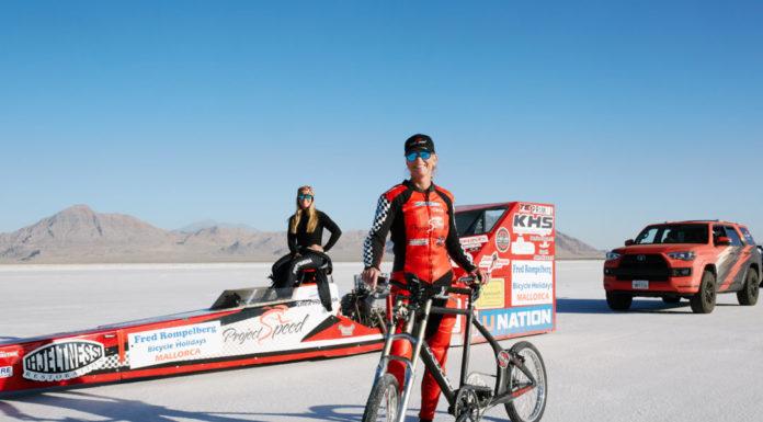 Record velocità bicicletta