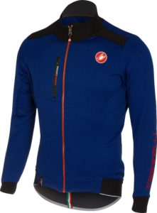 Castelli Potenza Jersey, una maglia molto calda e confortevole che può sostituire la giacca leggera nei giorni d'autunno, realizzata con Polartec® Power Stretch®