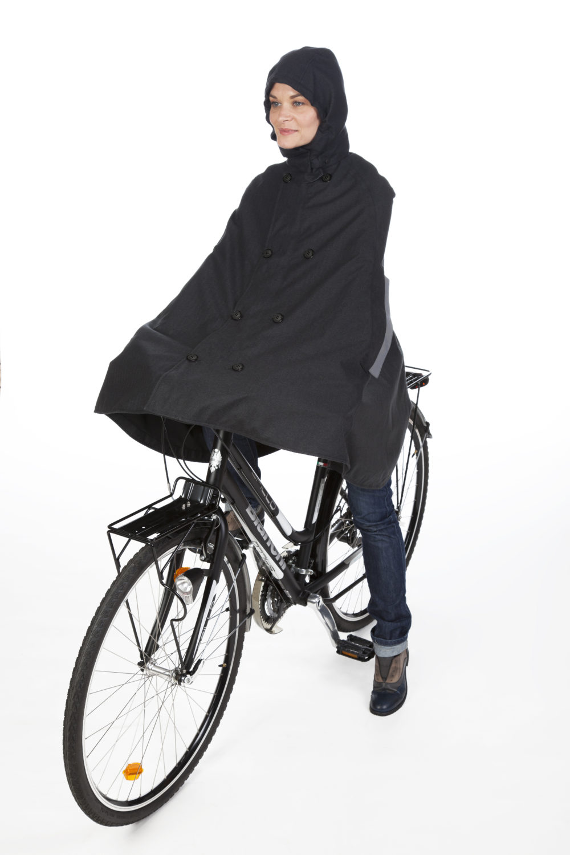 2 parti Vestiti di pioggia Per Bicicletta Scooter Moto tenuta per la pioggia