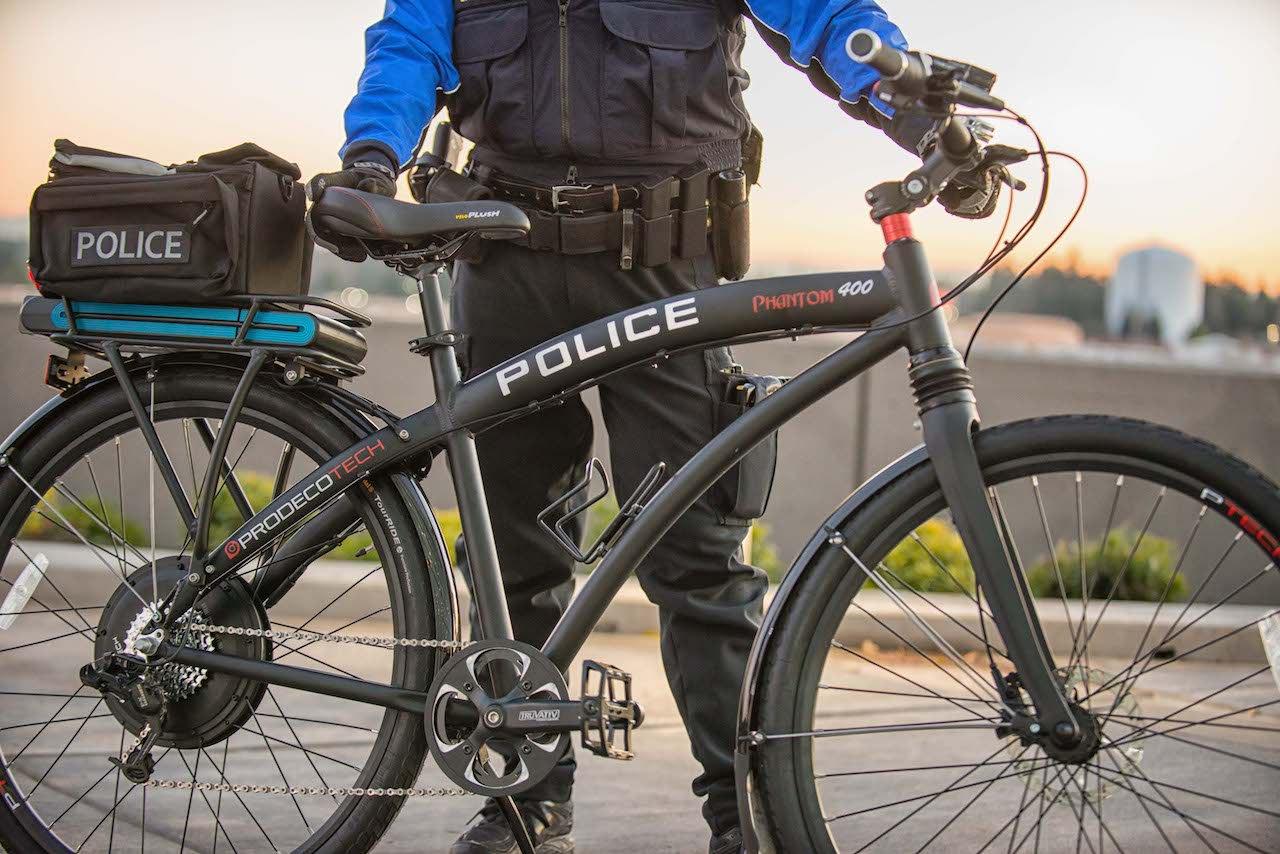 Polizia In E Bike Test Positivi Negli Usa Bicitech