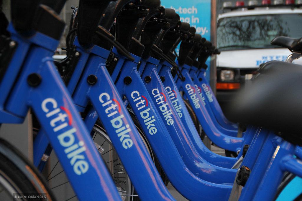 Citi bike new york bike sharing