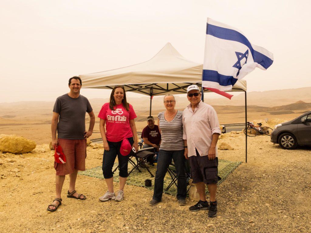 Giro d'Italia 2018 Be'er Sheva Eilat deserto Negev