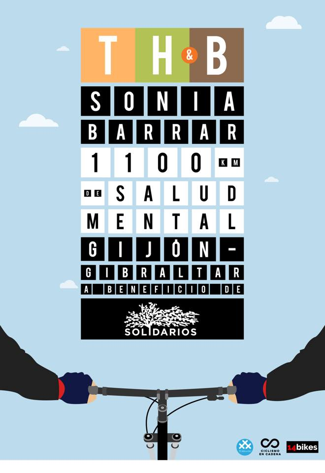 Think Hike & Bike pedalando per la salute mentale Sonia Barrar