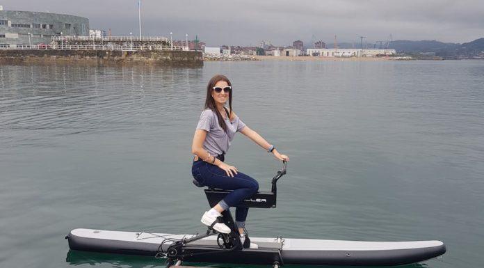 bicicletta acquatica