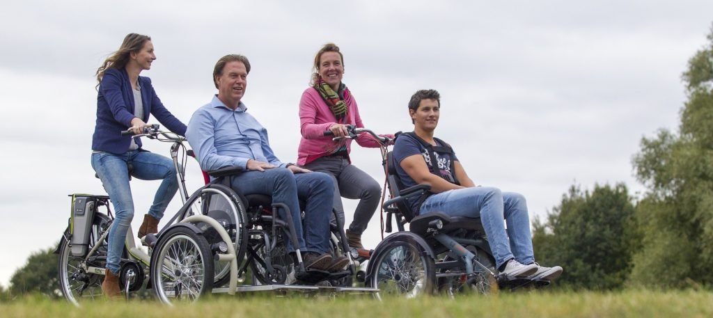 bici per disabili van raam