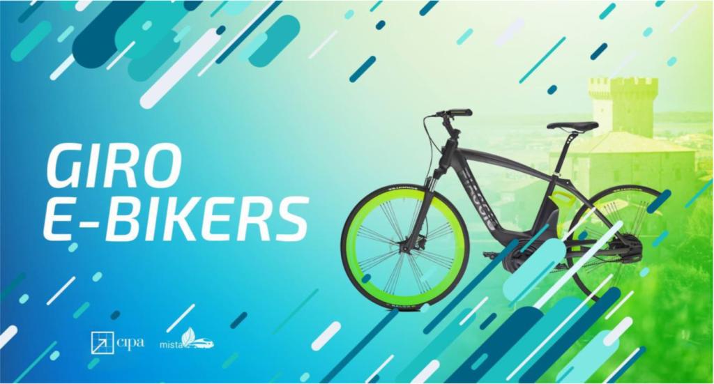 mobilità intermodale giro e-bikers mista