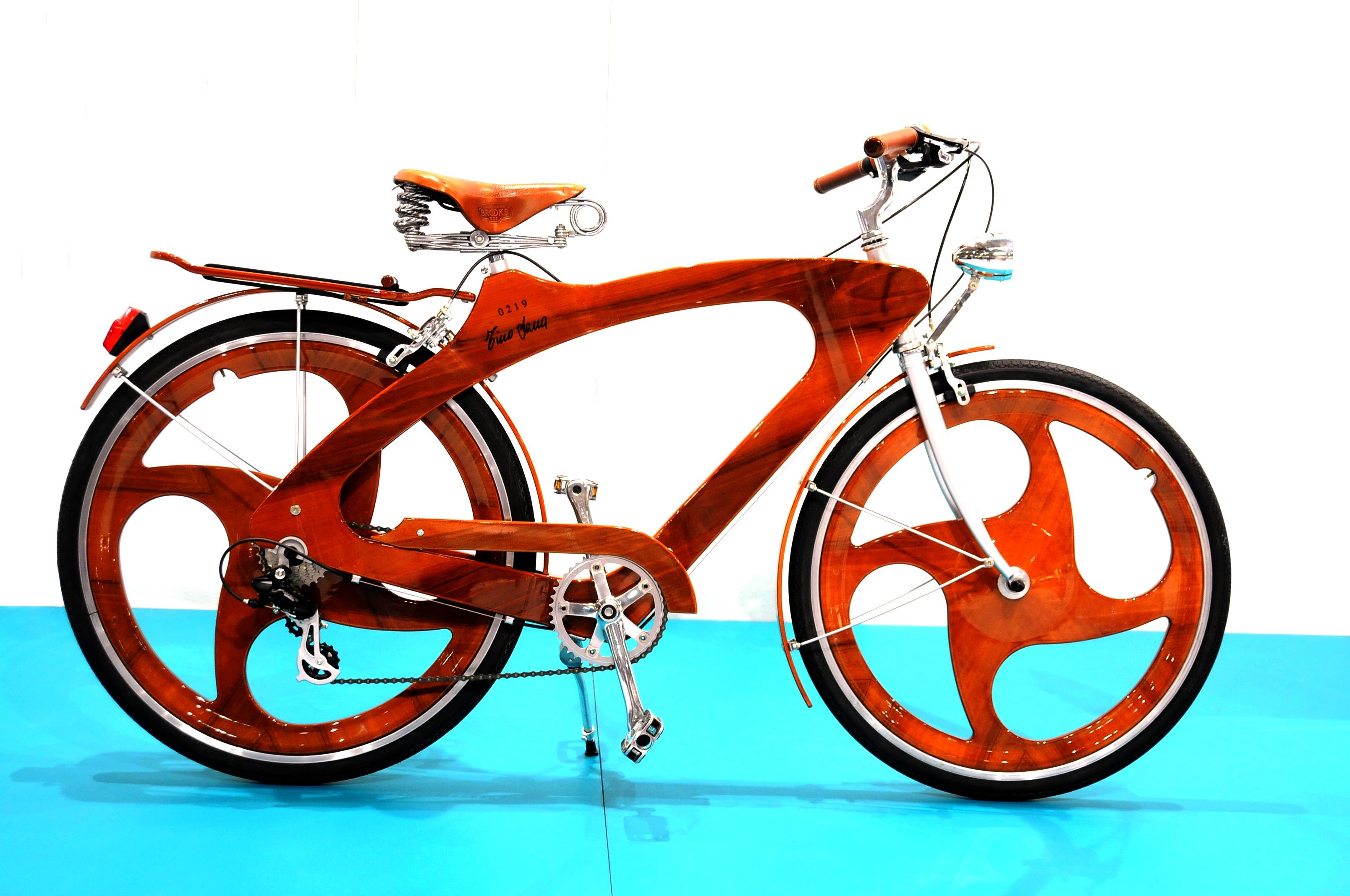Dai Musei Alle Case La Wood Bike Di Tino Sana Rinasce Grazie Al