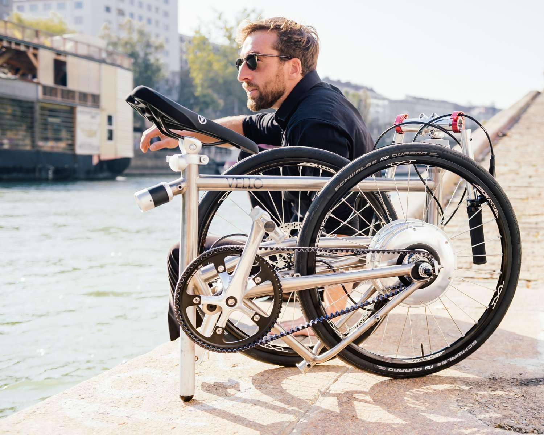 Bici Ultraleggera Pieghevole.Vello Bike Titan Pieghevole Ultraleggera