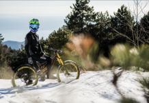 mountain bike inverno