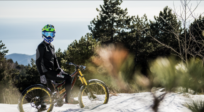 mountain bike inverno