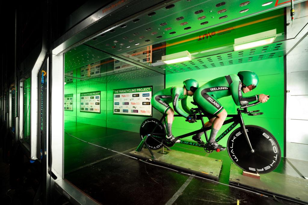 ciclismo paralimpico aerodinamica