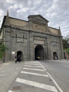 Bergamo - Porta sant'Agostino